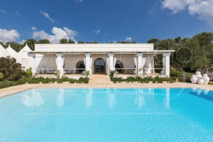 Extra luxury design villa with pool in Ostuni, Italy