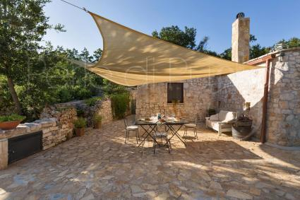 The outdoor areas are ideal during your Apulian vacation