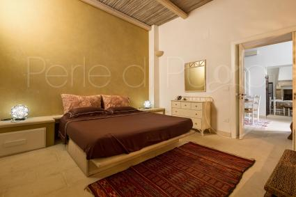 The sleeping area of the Luxury Apartment has 4 double bedrooms all with bathroom