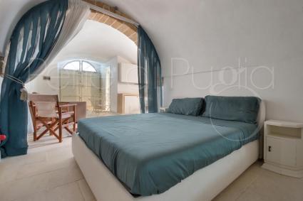 The beautiful double bedroom of the two-room apartment next door