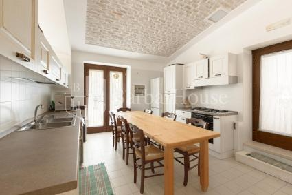Even the kitchen is very large and well equipped with everything you need so you can cook with pleasure.